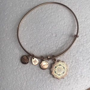 Alex and Ani Rose Gold Heart Chakra Bracelet